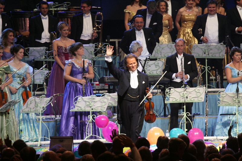Oct. 2006-Vancouver.  Andre Rieu & the Johann Strauss Orchestra.