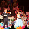 Oct. 2006-Vancouver.  Andre Rieu & the Johann Strauss Orchestra (I believe that's Manoe Konings on the Bagpipes - she normally plays Clarinet & Saxophone).
