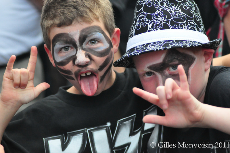A new generation of KISS fans!
