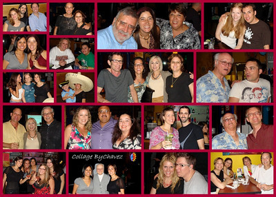 OMG did we ever have fun!  Who do you recognized in this collage?