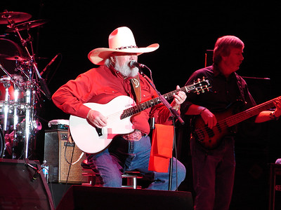 Charlie Daniels  at the Jamboree in the Hills
