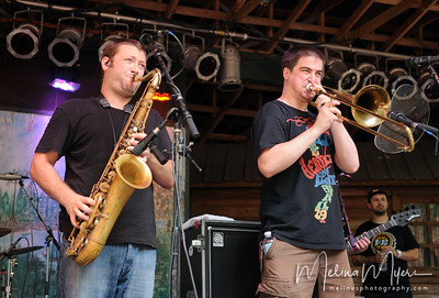 Streetlight Manifesto performs at the 311 PowWow Festival in Live Oak, FL on Friday, August 5th.