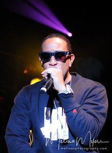 Ludacris performs at FSU's Warchant Concert held on October 31, 2010 on Langford Green.
