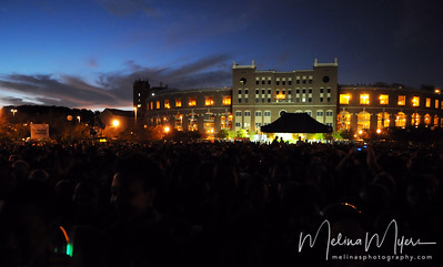 Many turned out for a beautiful evening during FSU's Warchant Concert held on October 31, 2010 on Langford Green.