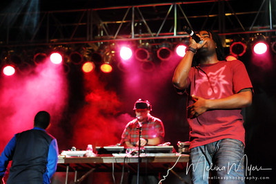 Wale performs at FSU's Warchant Concert held on October 31, 2010 on Langford Green.