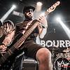 Bourbon Kings @ Fiesta-Concierto N° 400 La Heavy Magazine - Cool Stage - Madrid - España