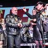 Bárbara Black, Jero Ramiro (Saratoga), Raquel Piqueras & Vicente Romero @ Rockferéndum La Heavy/Mariskal Rock 2017 - 2018 - Cool Stage - Madrid