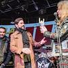 Premio de mejor cantante masculino entregado a Leo Jiménez x Oscar Sancho (Lujuria) @ Rockferéndum La Heavy/Mariskal Rock 2017 - 2018 - Cool Stage - Madrid