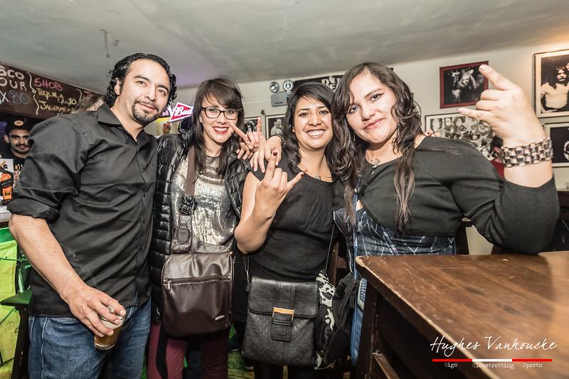 Renato Cabanillas, MerryJane, Karen Soph & IsaHell - EQAY @ Rock House - C/. Tecsecocha - Cusco - Peru