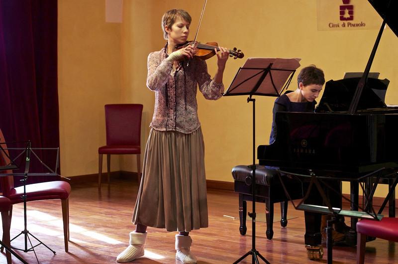 Fata Morgana Duo (Ekaterina Derugo, violin / violino - Katsiaryna Maretskaya, piano /pianoforte)