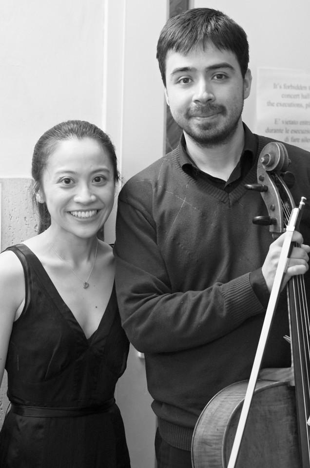 Guignard - Tong Duo (Arthur Guignard, cello / violoncello - Roh Fei Tong, piano / pianoforte)