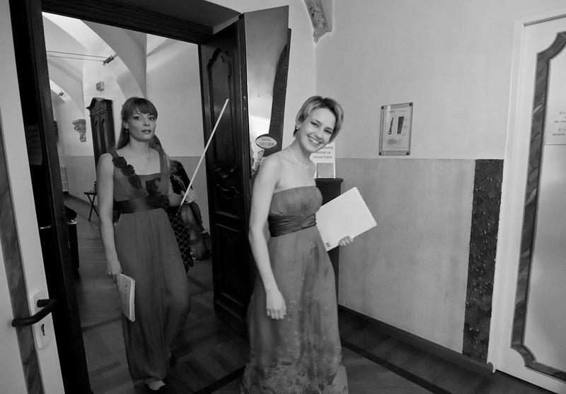 Artena Duo (Verena - Maria Fitz, violin / violino - Arta Arnicane, piano / pianoforte)