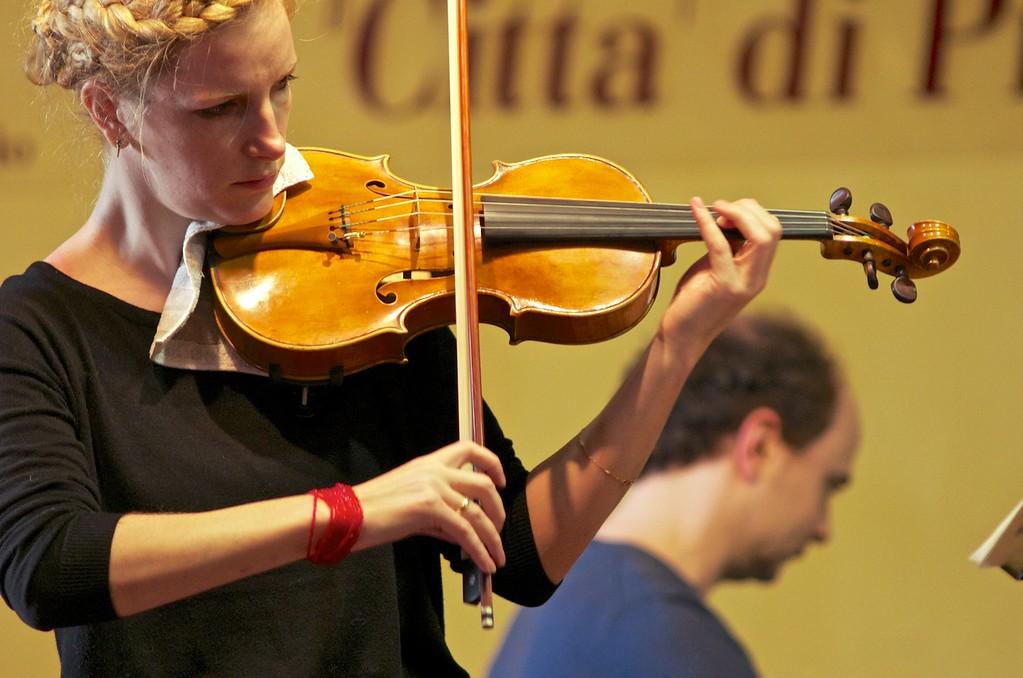 Nesterovska - Lecic Duo (Mariya Nesterovska, violin / violino - Nenad Lecic, piano / pianoforte)
