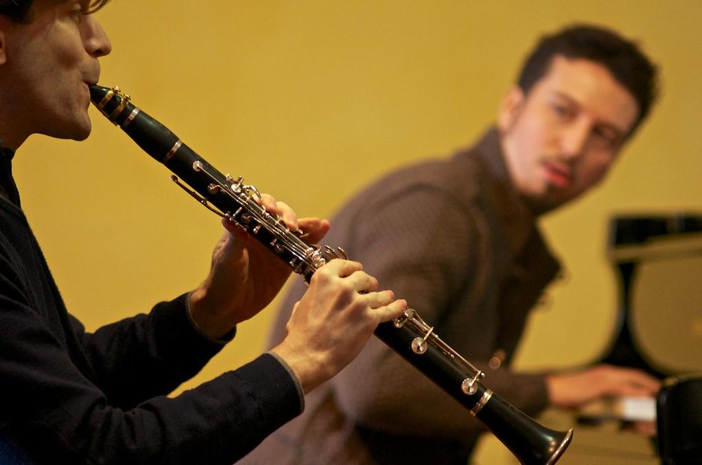 Degas Trio (Francesco Negrini, clarinet / clarinetto - Luca Bacelli, cello / violoncello - Matteo Sarti, piano / pianoforte)