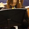ROBERT LEBZELTER / Star Beacon<br /> KALA DUHAMELL plays the oboe in the Conneaut High School Concert Band performance.