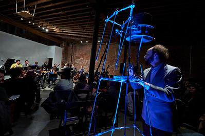 Contemporaneous plays Anna Thorvaldsdottir and Joanna Newsom at Pioneer Works