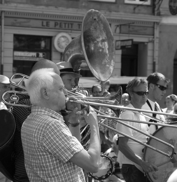 Le Petit.<br /> Street parade with Orion Brass Band.