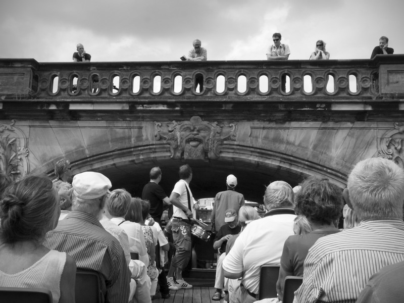Jazz Phobic.<br /> Harbour parade with the Orion Brass Band.<br /> The marble Bridge with its wonderful sea creatures.