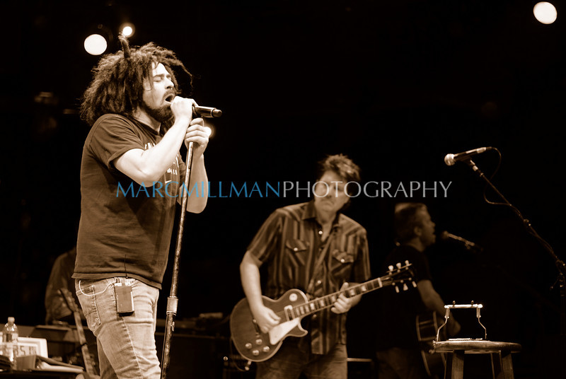 Recovering the Satellites4<br /> <br /> Counting Crows (Theatre @ Westbury- Wed 8/4/10) sepia