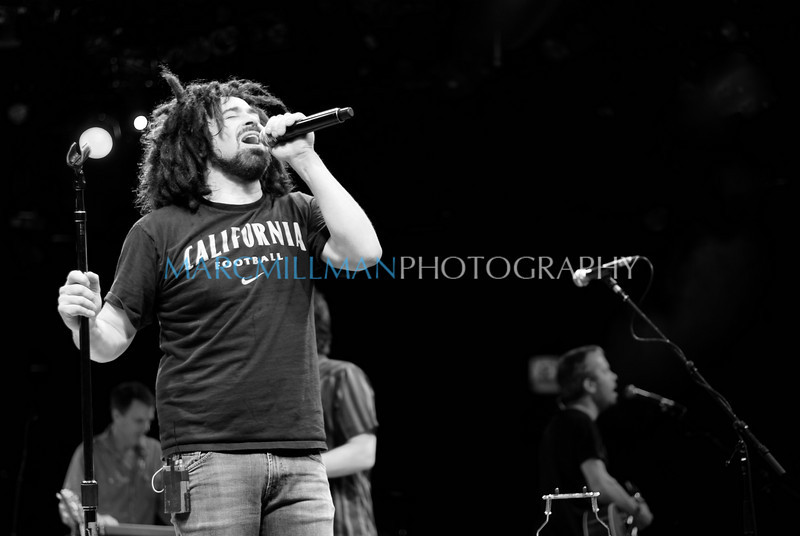 Recovering the Satellites6<br /> <br /> Counting Crows (Theatre @ Westbury- Wed 8/4/10) B&W
