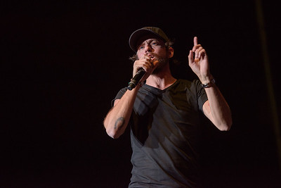 Chris Janson, live in concert at the 1st Bank Center in Broomfield Colorado as part of KYGO's Christmas Jam - December 14, 2017 - © Steve Hostetler - All Rights Reserved info@stevehostetler.com for use.
