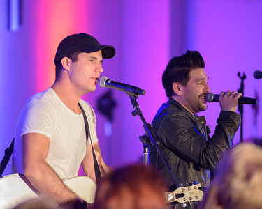 Country Duo Dan + Shay live in concert at a KYGO After Party at the Doubletree Hotel in Denver, CO, July 7, 2016.  © Steve Hostetler - All Rights Reserved.