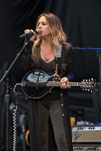 Lucie Silvas open for Chris Stapleton at Red Rocks Amphitheater near Denver, Colorado, May 23, 2017 - © Steve Hostetler - All Rights Reserved.