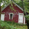 A lovely overgrown school house on the border of Connecticut and Rhode Island... in the rain.