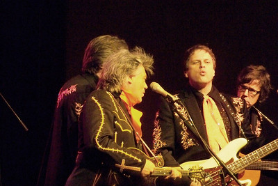 Marty Stuart, Harry Stinson, Paul Martin,and Kenny Vaughn