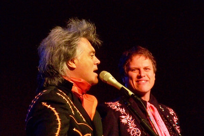 Marty Stuart and Paul Martin