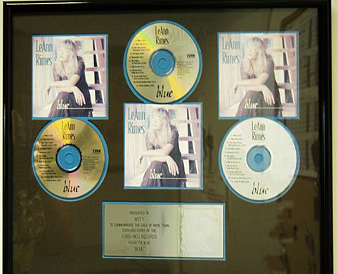 Leann Rimes Triple Platinum!