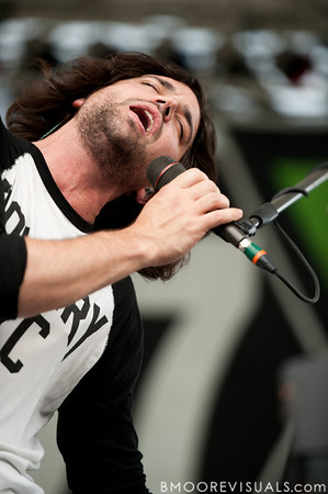 Tony Beliveau of Crash Kings performs on May 29, 2010 at 97X Backyard BBQ at Vinoy Park in St. Petersburg, Florida