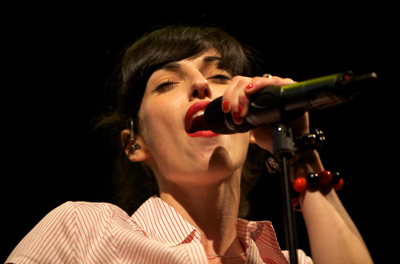 Superbus en concert à Nice au Théâtre de Verdure pour la Crazy Week 2010<br /> <br /> Jennifer Ayache