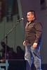 Creefest 2011 July 13 at Moosonee Arena. Everett Morrison signing opera.