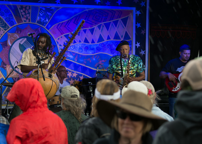Charles Neville and Youssoupha Sidibe with the Mystic Rhythms