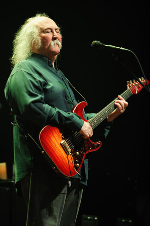 David Crosby of Crosby, Stills, & Nash performs on September 30 at Ruth Eckerd Hall in Clearwater, Florida.