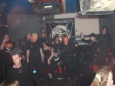 Cruxshadows - The Rigger, Newcastle 08.07.02