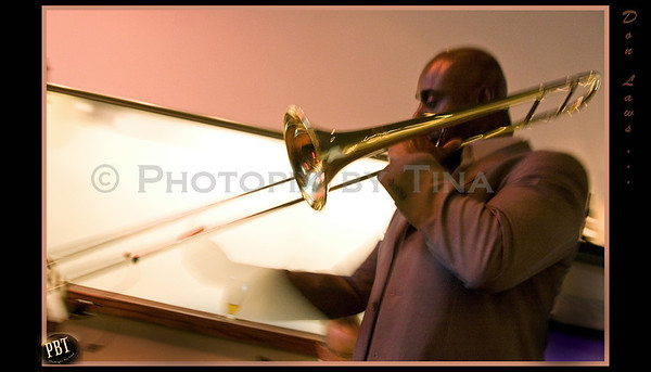 Don Laws on trombone and vox ...