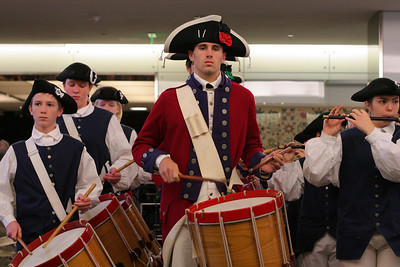 Fife and Drums of York Town at the Smithsonian Museum of American History