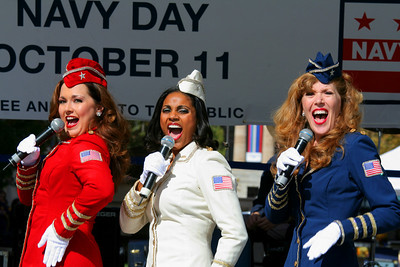 The American Belles music from the 40s at the Navy Memorial
