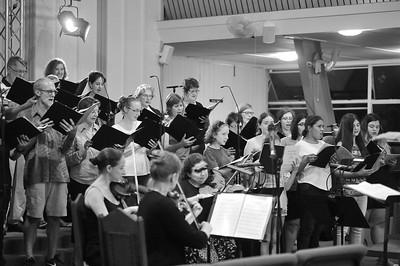 Pacific Requiem. Rehearsal 17.03.2017