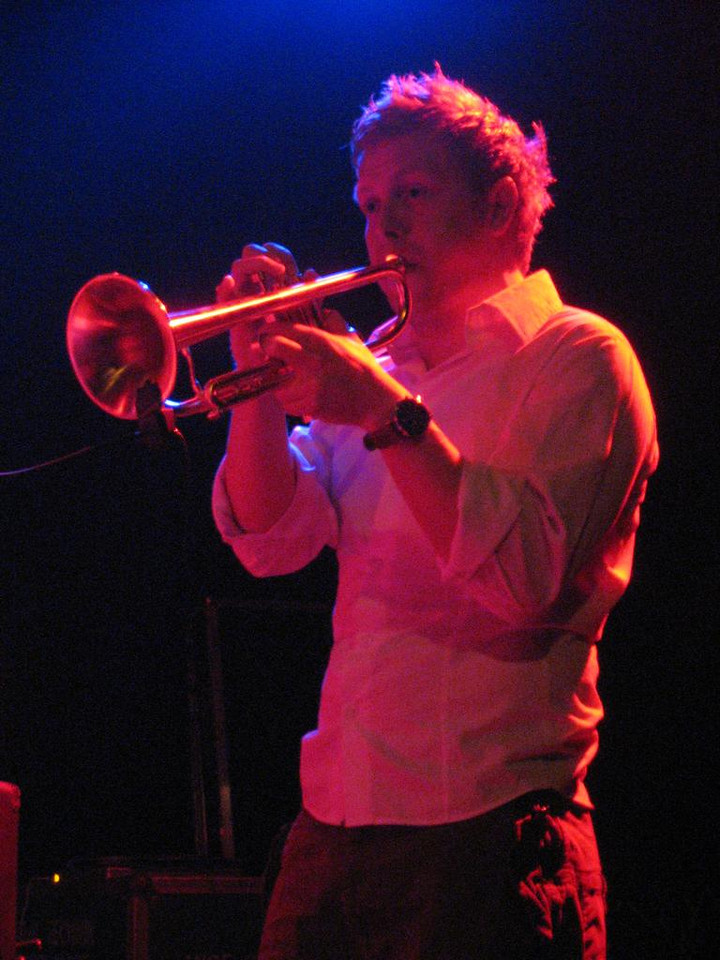 trumpet player from Germany, a guest