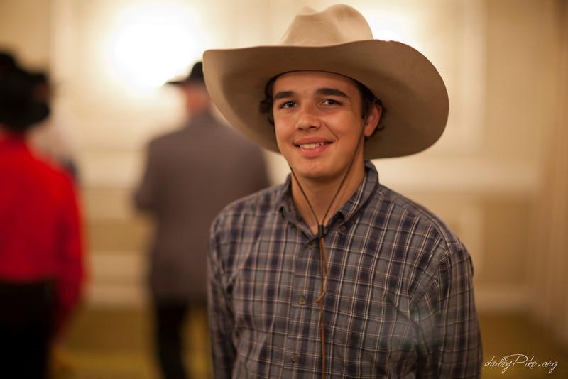 Young Cowboy @ Silver Spur Awards