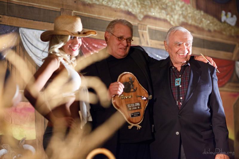 Bo Hopkins & Ernest Borgnine @ Silver Spur Awards