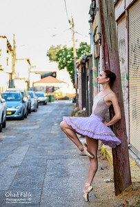Urban Belerina with Svetlana