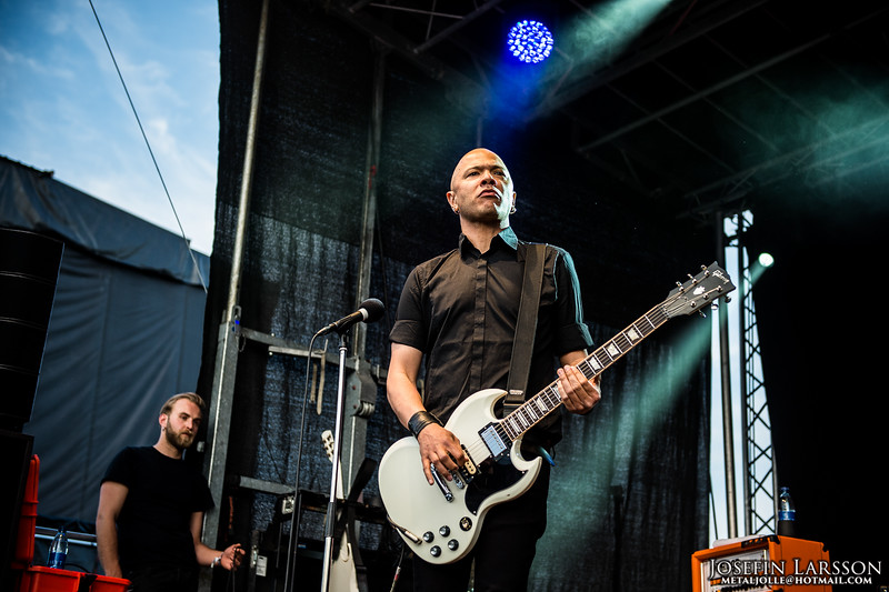 Danko Jones - MetallSvenskan 2016
