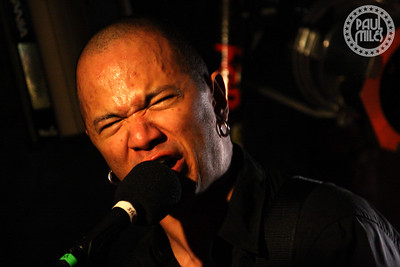 CANADA ROCKS: Danko Jones fronts his rockin' trio as they tour the US behind their Below The Belt album.