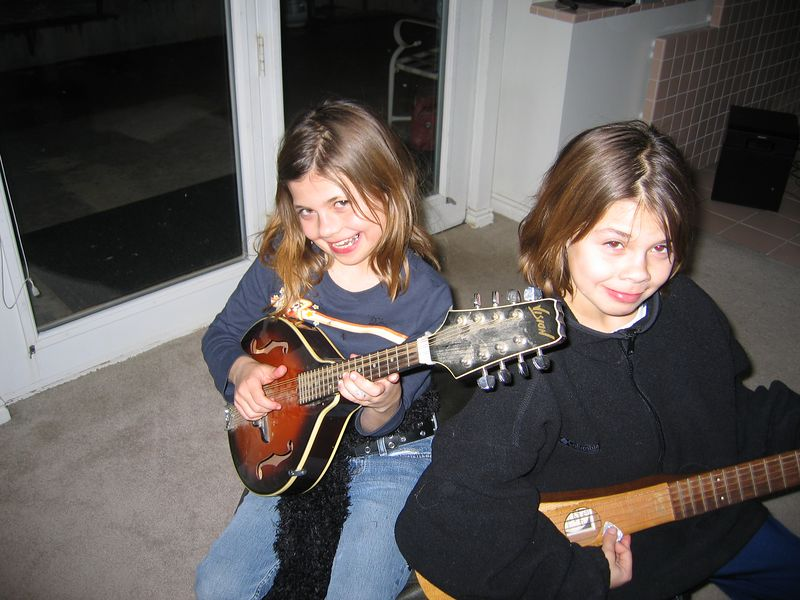 Amanda and Melisa