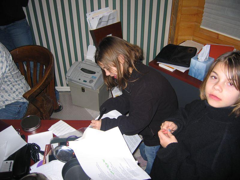 Post recording autograph session