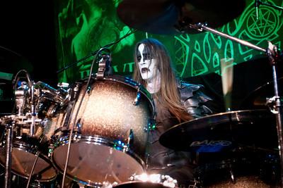 Dark Funeral, Slim's, San Francisco, 10/12/2012
